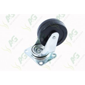 Castor Rubber Swivel 2 1/2 Inch
