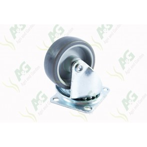 Castor Rubber Swivel Plate 2 Inch