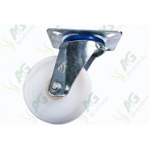 Castor Nylon Swivel Plate 4 Inch