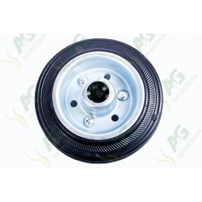 Castor Wheel Rubber 4 Inch