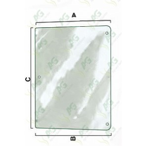 Side Glass LH - Curved