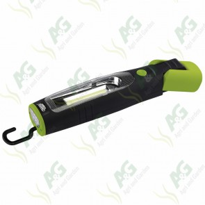 DRAPER EXPERT 3W COB LED Rechargeable Magnetic Inspection Lamps-Green