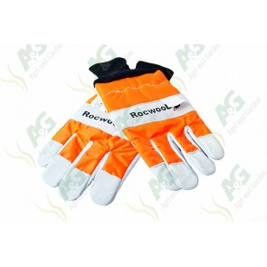 Chain Saw Gloves Large