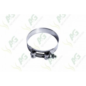 Heavy Duty Hose Clamp Bolt Type 98-103mm, Stainless Steel