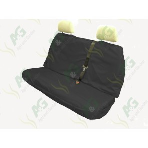 Seat Cover; Multi Fit Rear Black