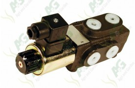 6 Port Solenoid Diverter Valve 3/8 Inch