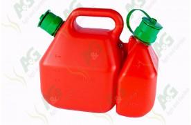 Oil & Fuel Container 2.25 Litre & 6 Litre