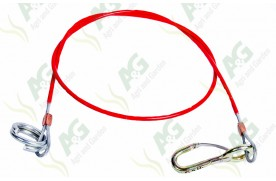 Trailer Breakaway Cable With Wim Wom Hook