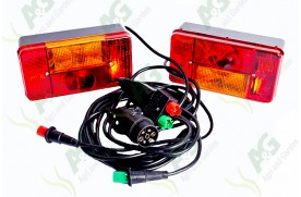 Lamp Set Ready Wired 3.5 Metre Cable