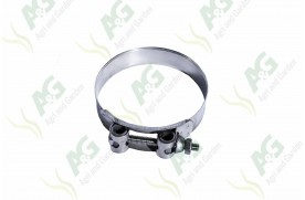 Heavy Duty Hose Clamp Bolt Type 104-112mm, Stainless Steel