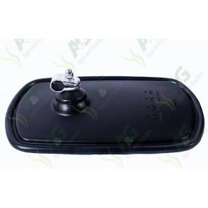 Mirror Head Black 254 X 152mm Flat