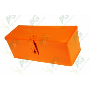 Small Orange Toolbox