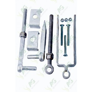 Gate Hanger Kit Adjustable 18 Inch