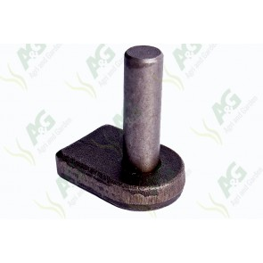 Gate Lug Weld On Flat Base 3/4 Inch Pin