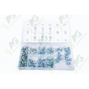 Grease Nipple Kit Metric 110Pcs