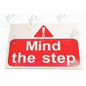 Sign:Mind Step 450 X 300 mm - Plastic