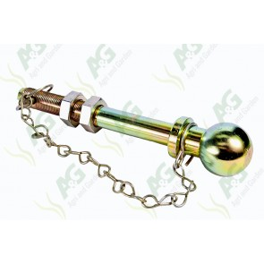 Ball Hitch Pin 7/8 X 7 1/2 Inch
