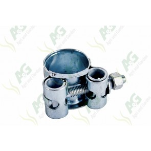 Heavy Duty Hose Clamp Bolt Type 17-19mm