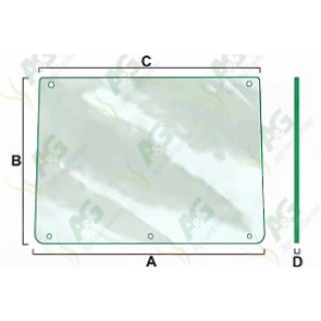 Front Windscreen Glass