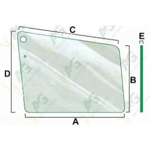 Upper Door Glass