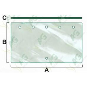 Lower Rear Window Glass