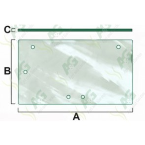Glass: Tractor Parts for Massey Ferguson, Ford, Case, David Brown