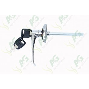 Door handle L type Locking 38mm C-C