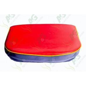 Seat Cushion Red/Yellow