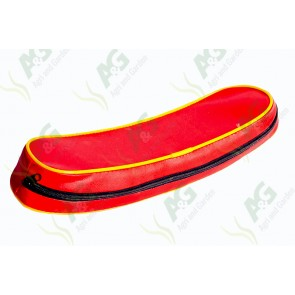 Back Rest Cushion Red/Yellow
