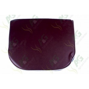 Seat Cushion Brown/White