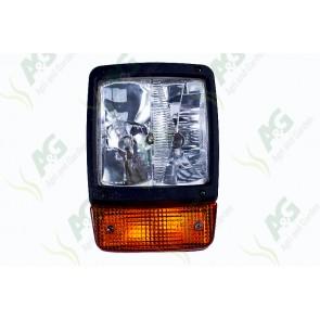 Later JCB type headlamp & Flasher Lamp Complete RH