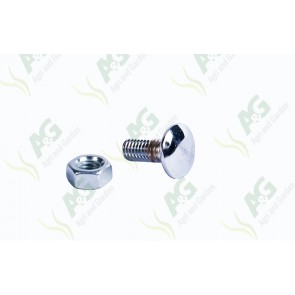 Chrome Bonnet Bolts MF 35