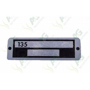 Serial Plate 135