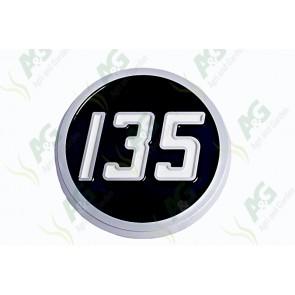 Badge Plastic Type 135