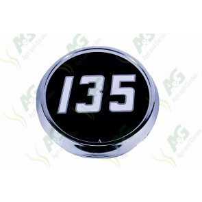 Badge Chrome Type 135