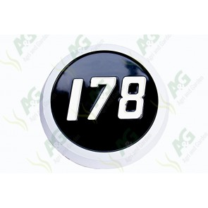 Medallion Badge 178