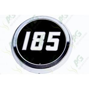 Medallion Badge Aluminium type 185