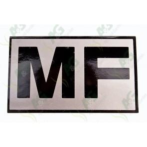 Decal: MF
