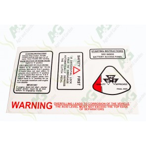 Decal: MF Warning