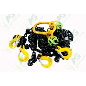 Chainsling 8mm 4 Leg 3M 4.25 Ton