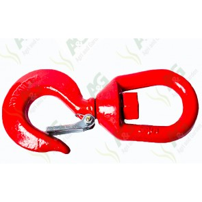 Swivel Hook With Safety Catch 1.5 Ton