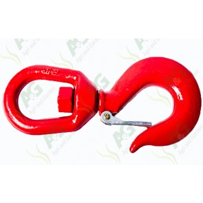 Swivel Hook With Safety Catch 2 Ton