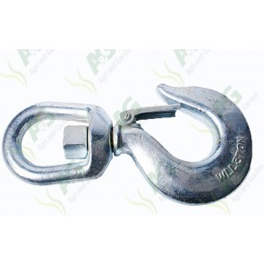 Swivel Hook With Safety Catch 3 Ton