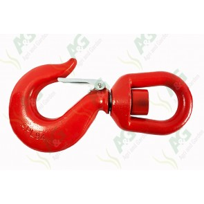 Swivel Hook With Safety Catch 11 Ton