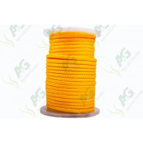 Rope PP Yellow Braided 10mm 65M Reel