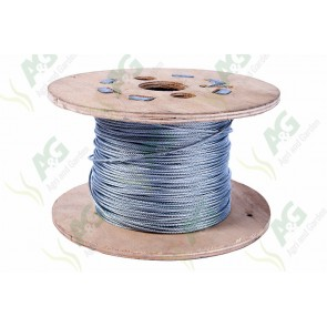 Wire Rope Galvanized - 2 mm - Sold Per Metre