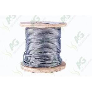 Wire Rope Galvanized - 6 mm - Sold Per Metre
