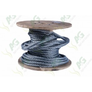 Wire Rope Galvanized - 19 mm - Sold Per Metre