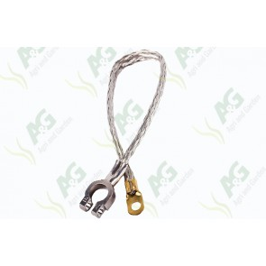 Battery Cable Negative Braided 15 Inch