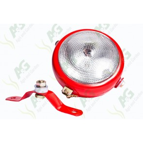 Ploughlamp Red With Switch